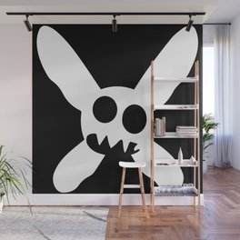 Necrotic Pixies Jolly Rodger Wall Mural