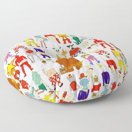Fast Food Butts Floor Pillow