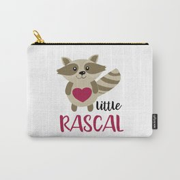 Little Rascal Raccoon Kids Cute Forest Animal Carry-All Pouch