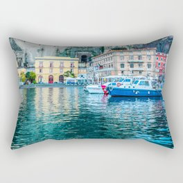 Marina in Sorrento, Italy Rectangular Pillow