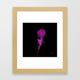 Purple Irradiance Framed Art Print