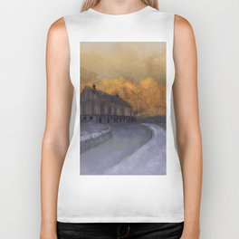 At Just Dawn Biker Tank
