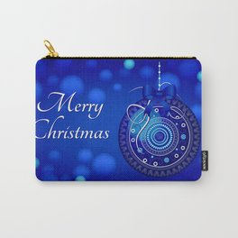 Christmas Ornament - Blue 56 Carry-All Pouch