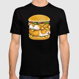 Double Corgi Pounder T-shirt