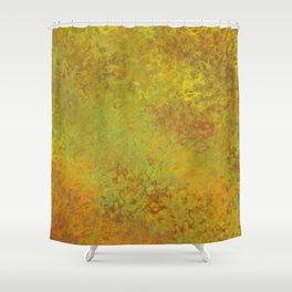 Liquid Hues Fluid Art Digital Illustration, Digital Watercolor Artwork Shower Curtain