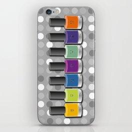 Colour happy iPhone Skin
