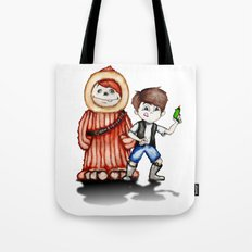 Cosplay Kids; Space Kids (Let The Ginger Win) Tote Bag