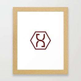 Altered Carbon Symbol Framed Art Print