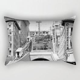 Angels Flight, Los Angeles 1907 Rectangular Pillow