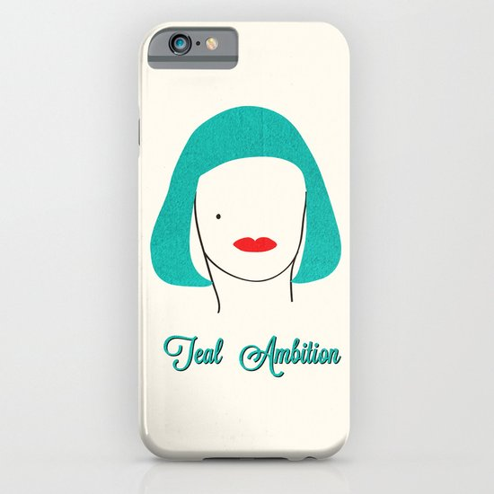 Teal Ambition iPhone & iPod Case