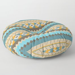 navajo pattern 3 Floor Pillow