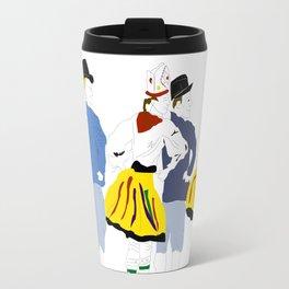 Rahvatants / Estonian Folk Dance Travel Mug