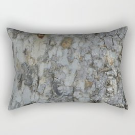 TEXTURES -- California Sycamore Bark Rectangular Pillow