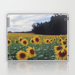 Sunflower Field Laptop & iPad Skin