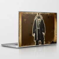 bane Laptop & iPad Skins featuring The Dark Knight: Bane by WarrenRB