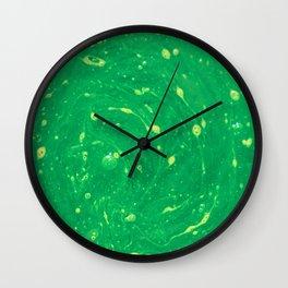 Green Adagio Wall Clock