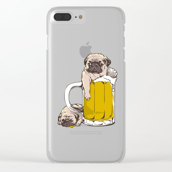 Go Home Clear iPhone Case
