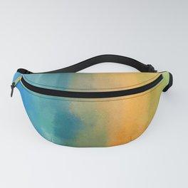 Raining Streaks of Rainbow Colors Fanny Pack