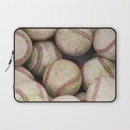 Many Baseballs - Background pattern Sports Illustration Laptop Sleeve
