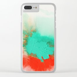 Synergy 1B5 by Kathy Morton Stanion Clear iPhone Case