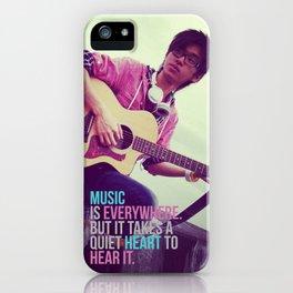 Takatsu: Music 2 iPhone Case