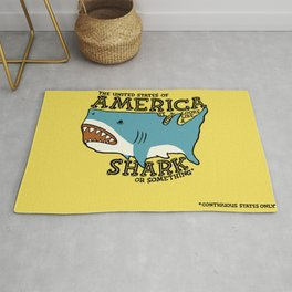 America…   it kinda looks like a shark or something Rug