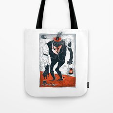 The Haunted Conductor Tote Bag