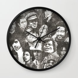 Timeless (Aged Version) Wall Clock