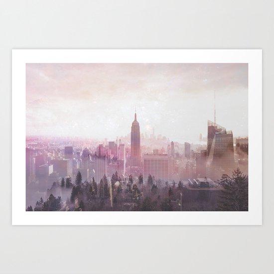 New York Magic Art Print
