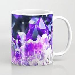 Purple Agate Crystal Coffee Mug