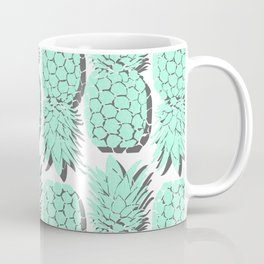 Pastel Pineapple Coffee Mug