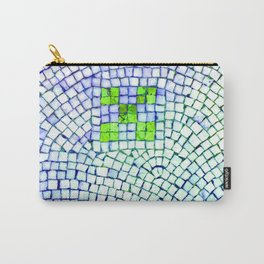 artisan 22.06.16 in lime & shades of blue Carry-All Pouch