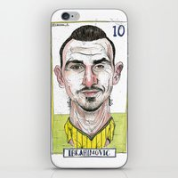 zlatan iPhone & iPod Skins featuring ZLATAN by BANDY