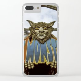 The Monster Clear iPhone Case