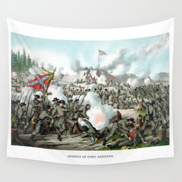 The Battle of Fort Sanders Wall Tapestry