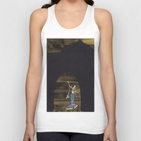 princess Tank Tops featuring Princess  by Dawn Patel Art