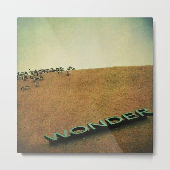 The Geese of Wonder Hill Metal Print