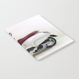 Vespa Motorbike Notebook