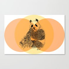 saving panda Canvas Print