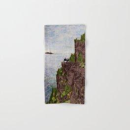 Painting on the Edge Hand & Bath Towel
