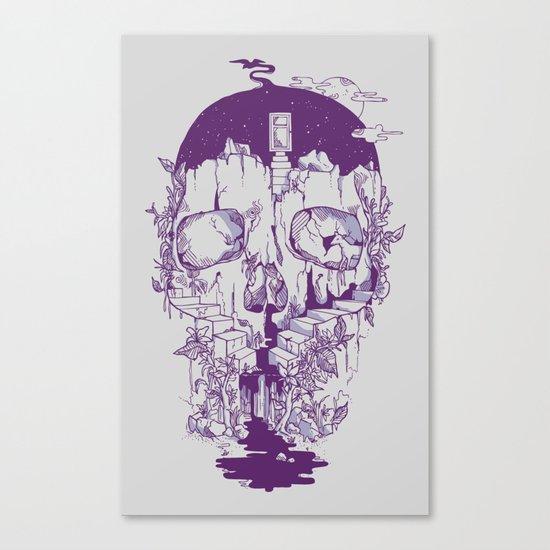 Inside My Head 2.0 Canvas Print