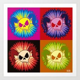 Rock N Roll Brat (pop art) Art Print