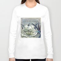 """haunted mansion Long Sleeve T-shirts featuring Disneyland Haunted Mansion inspired """"Old FlyBait""""  by ArtisticAtrocities"""