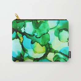 Blue & Green - should be seen Carry-All Pouch