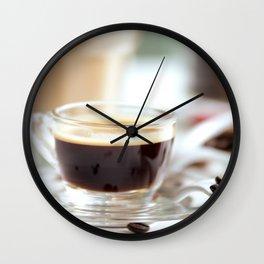 Fresh Espresso Wall Clock