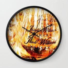 Jacob's Stemware Wall Clock