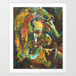 Deep Impression Art Print