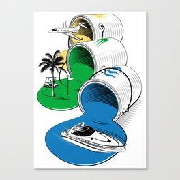Luxury Paints Canvas Print
