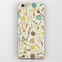 Kitchen Utensils iPhone Skin