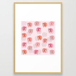 Lucky 19 HKc Framed Art Print